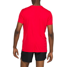 asics Silver SS Top Herre classic red